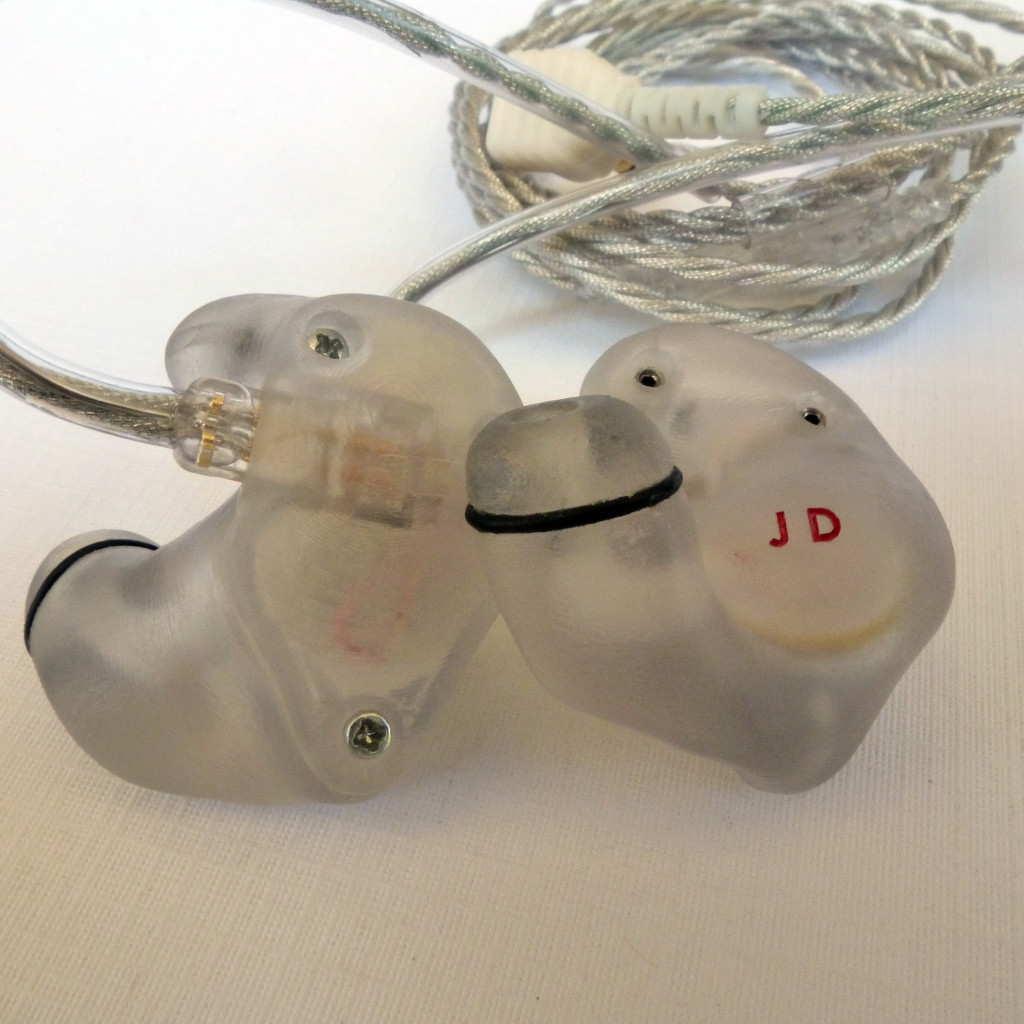 Aurisonics AS-1b and custom in-ear monitor (CIEM)