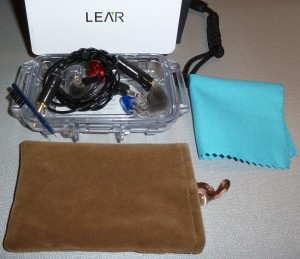 Lear LCM-5 Custom In-Ear Monitors (CIEM)