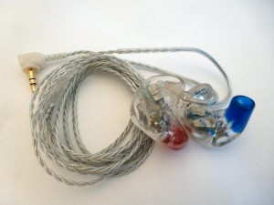 Audio Earz AUD-8X by Dream Earz custom in-ear monitors