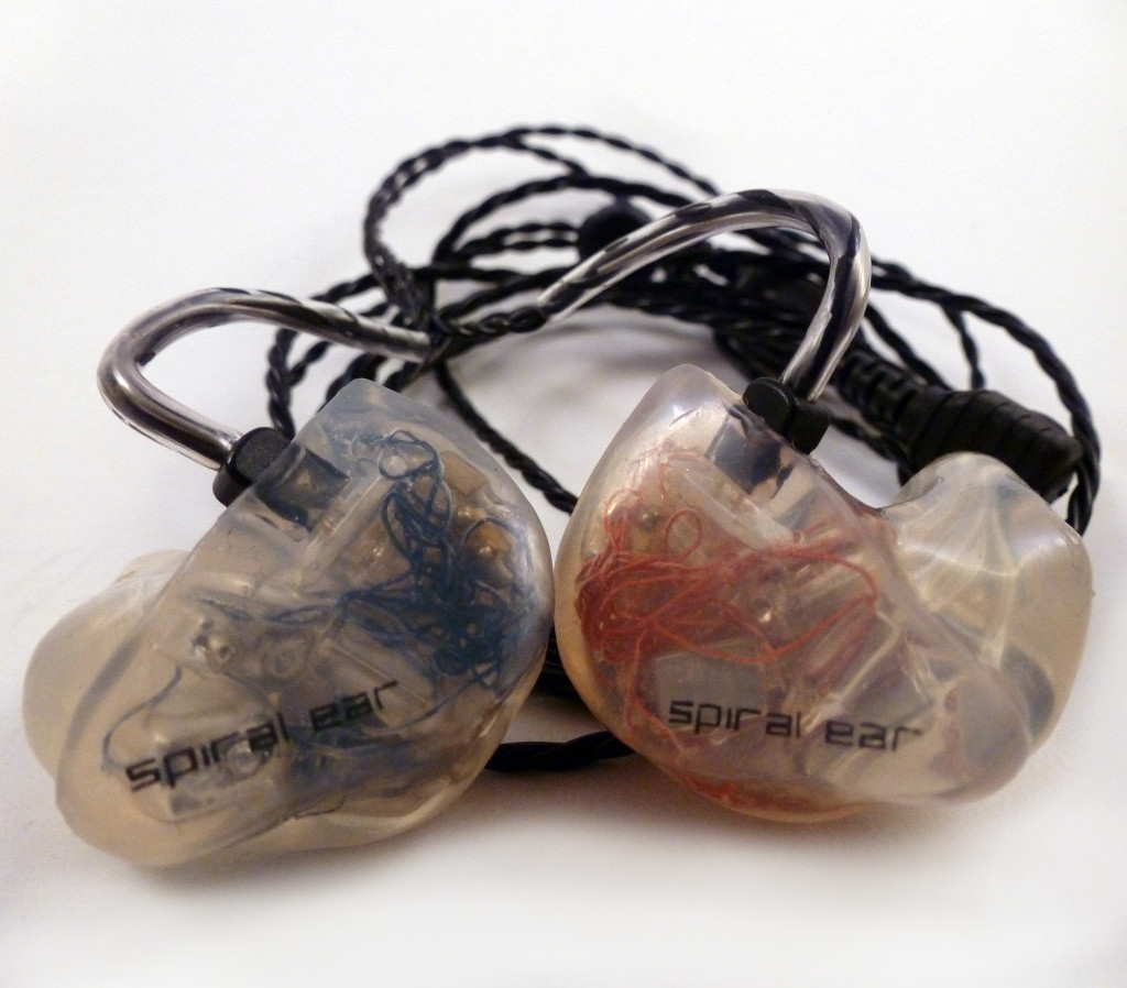 Spiral Ear SE 5-way Reference custom in-ear monitors