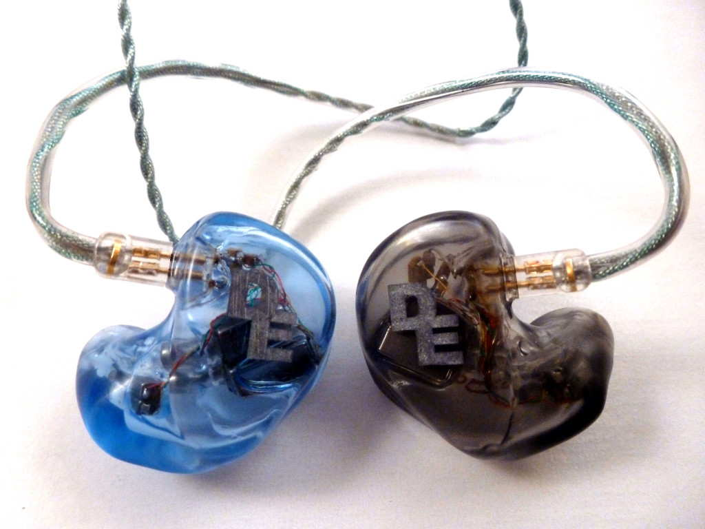 Audio Earz AUD-5X Custom In-Ear Monitors by Dream Earz
