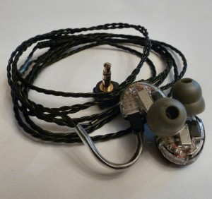 EarSonics SM64 in-ear monitor
