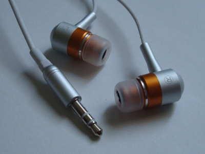 Dealextreme Orange Earbuds