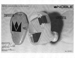 Noble Audio universal earphone