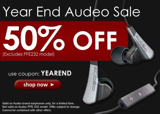 Earphone Solutions 50% off sale