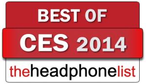 The Headphone List Best of CES 2014 award badge
