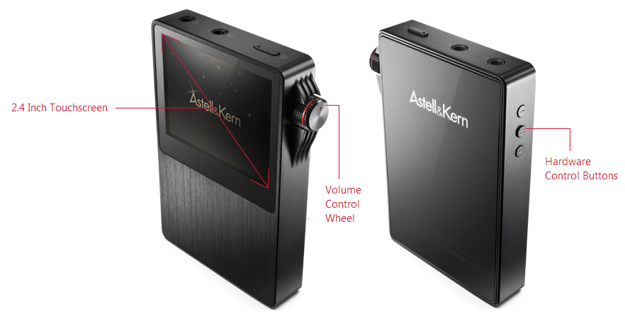 Astell & Kern AK120 button layout
