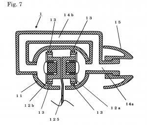 Ocharaku Flat-4 patent diagram