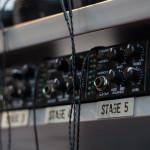 Rhines Custom Monitors demo rack