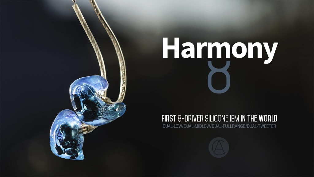 Custom Art Harmony 8 silicone custom in-ear monitor