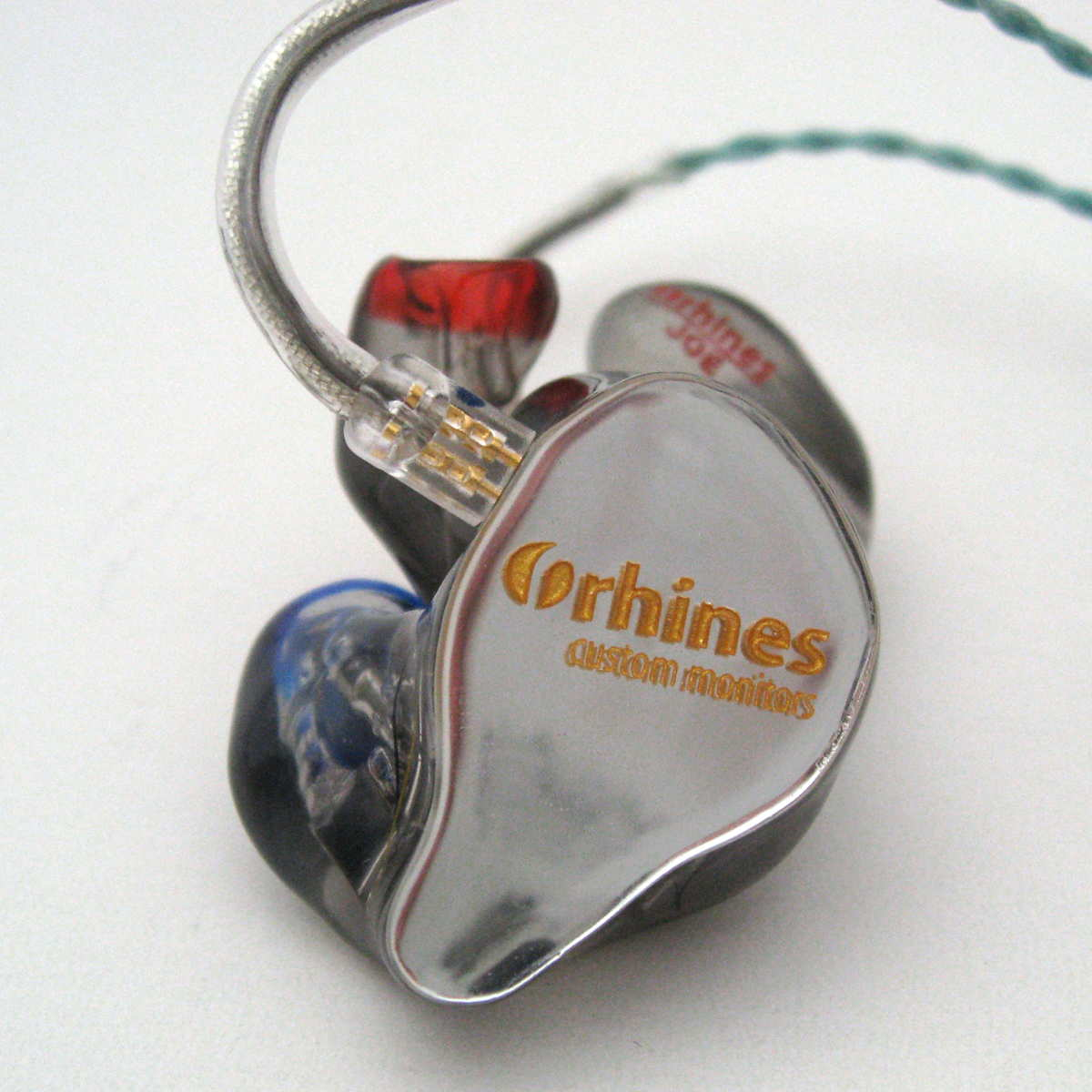Rhines Custom Monitors Stage 3 custom in-ear monitors