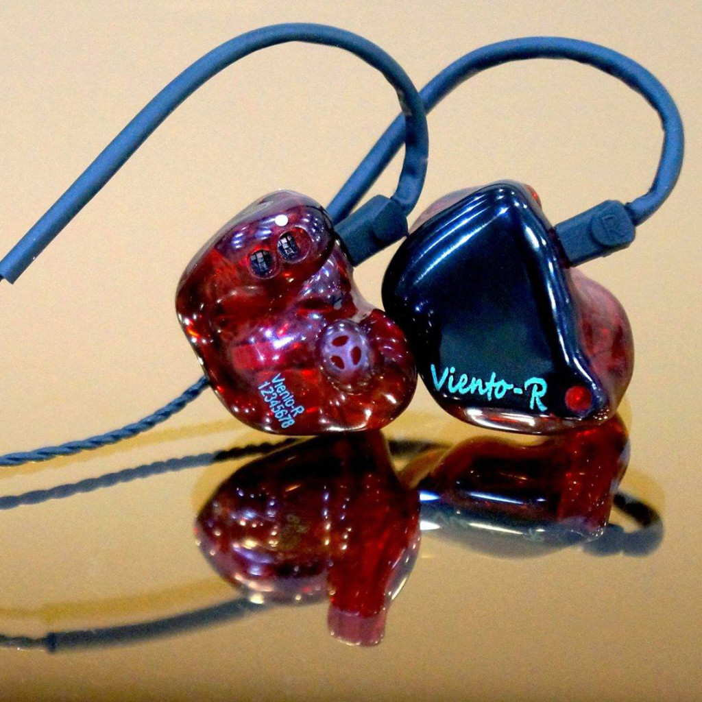 Hidition Viento-R custom in-ear monitors