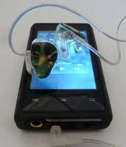 Lime Ears LE3B CIEM with DX100 music player