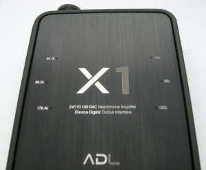 ADL X1 DAC-amp top