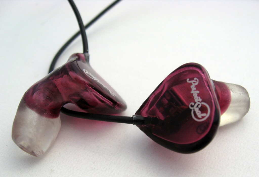 Perfect Seal Sportbud Silver canal only custom in-ear monitors