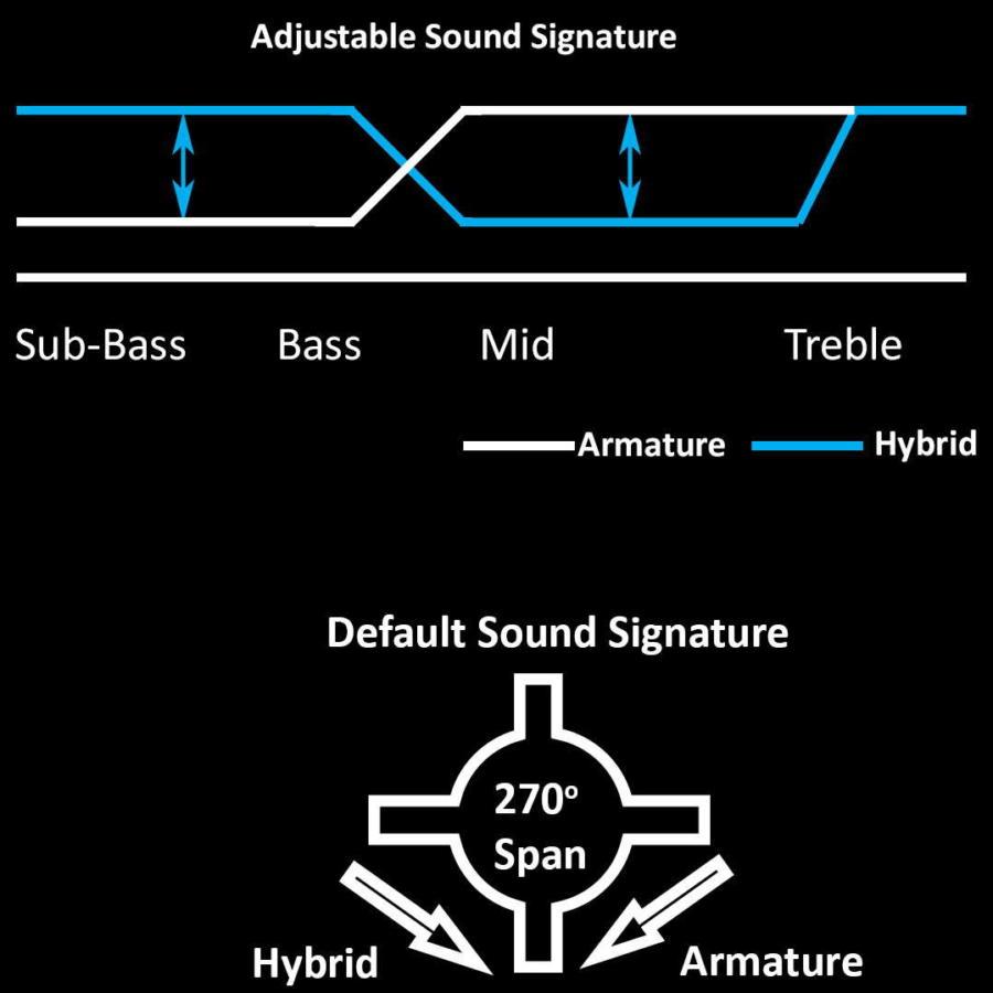AAW W500-AHMorph custom in-ear monitors