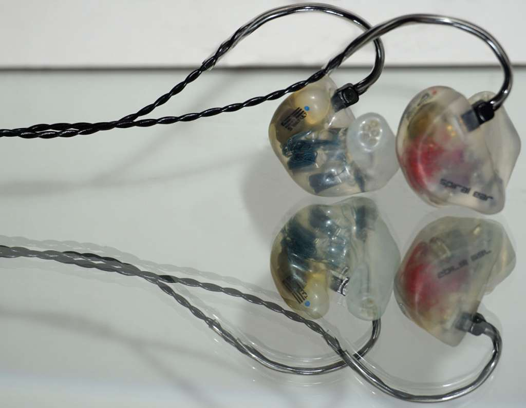 Spiral Ear 5-way Ultimate Custom In-Ear Monitor
