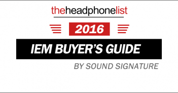 2016 Earphone Buyer's Guide on The Headphone List