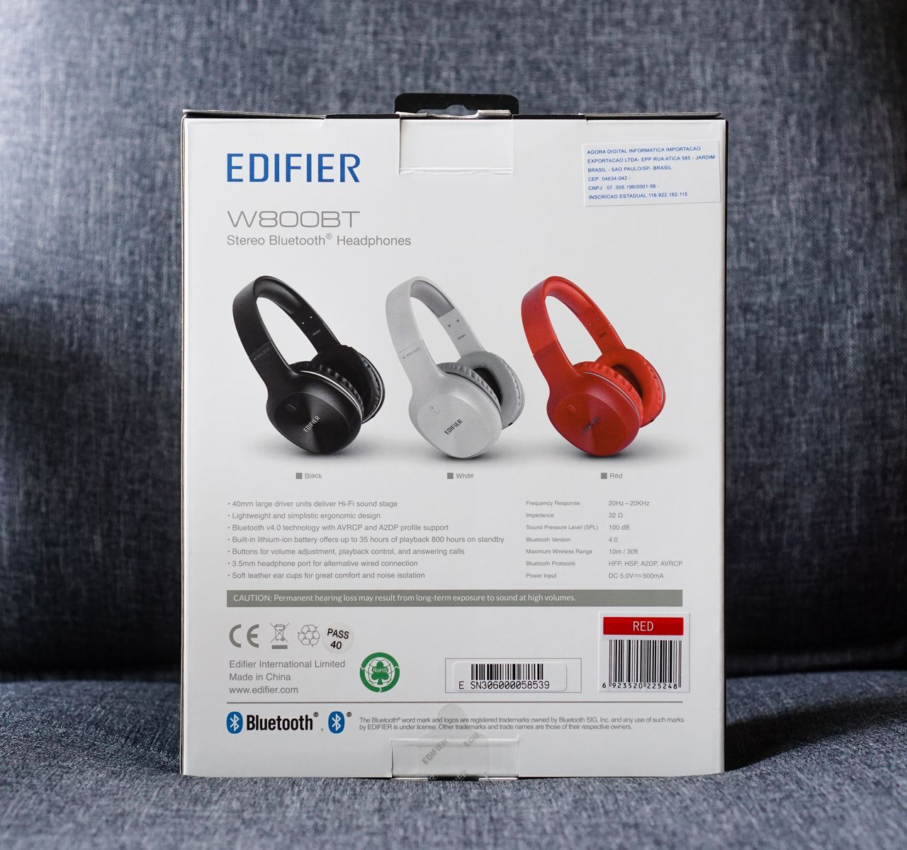 Edifier W800BT Headphones Review | The Headphone List