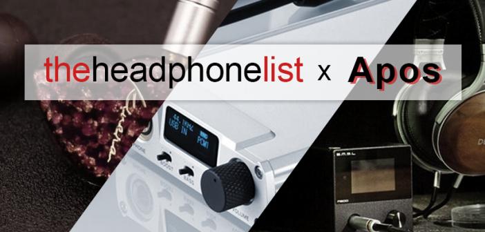 Apos Audio and The Headphone List Partner
